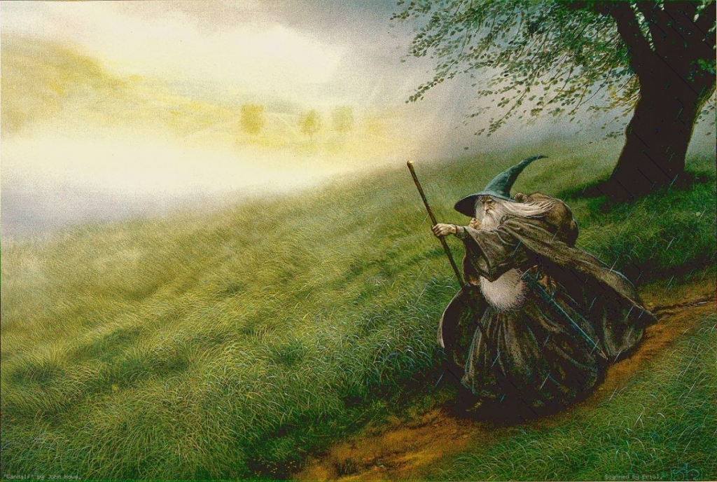 Gandalf la forja y la espada