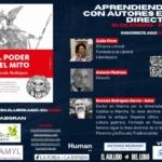 """La """"Librería Liberespacio"""" y con el maestro Antonio Medrano como presentador, tuvo a bien organizar un encuentro on-line alrededor de mi libro """"El poder del Mito""""."""
